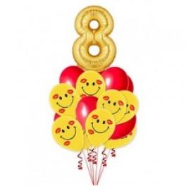 """Букет из шаров """"Поздравление"""""""