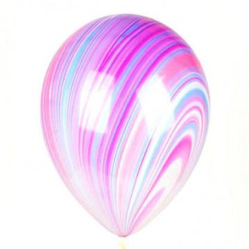 Супер агат, (фиолетовый, голубой, розовый)