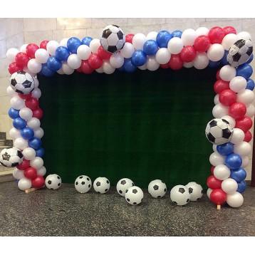 Гирлянда ТРИКОЛОР с футбольными мячами