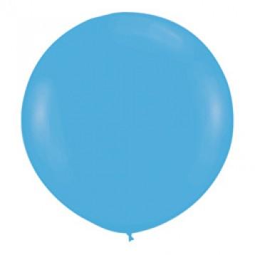 Шар Голубой Метровый, пастель