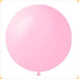 Шар Светло-розовый Метровый, пастель