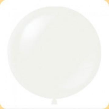 Шар Белый Метровый, пастель