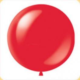 Шар Красный Метровый, пастель