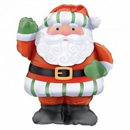 Шар фигура Санта Клауса, 94 см