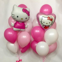 Сет из Шаров Hello kitty