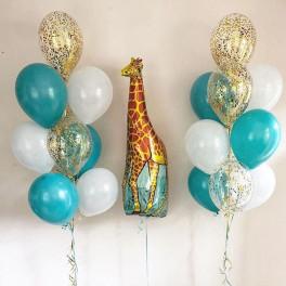 """Сет из шаров """"Жирафик"""""""