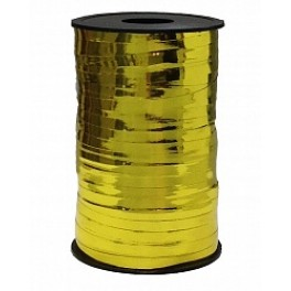 Лента металлизированная (0,5 см х 250 м) Золото