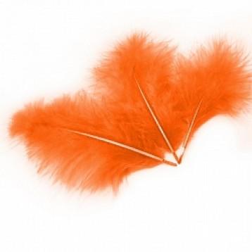Перья Оранжевые, 30 шт.