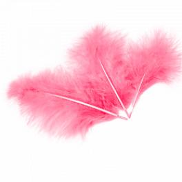 Перья Светло-розовые, 30 шт.