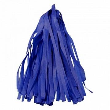 Тассел-гирлянда, Синий, 35 см.