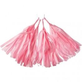 Тассел-гирлянда, Светло-розовый, 35 см.