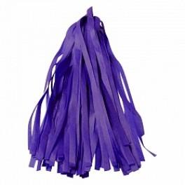 Тассел-гирлянда, Фиолетовый, 35 см.