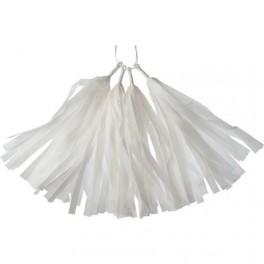 Тассел-гирлянда, Белый, 35 см.