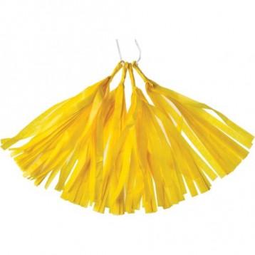 Тассел-гирлянда, Желтый, 35 см.