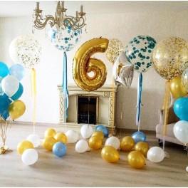 """Сет из шаров """"Яркое день рождения"""""""