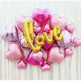 "Сет из шаров ""Forever love"""