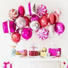 """Сет из шаров """"Фейерверк подарков и сладостей"""""""