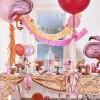 Шар Фламинго розовый, 130 см.