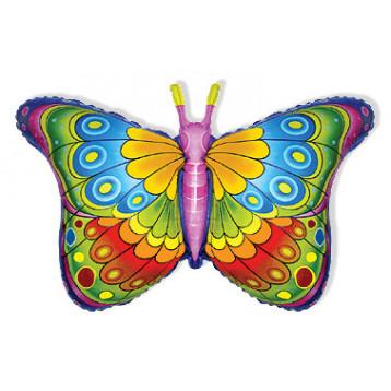 Фольгированный шар бабочка, 97 см