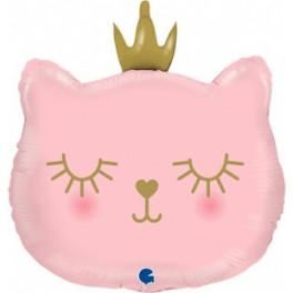 Кошка с короной, 66 см.