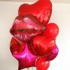 Шар Губы, Красные  70 см