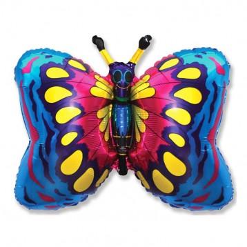 Шар Бабочка, Синий
