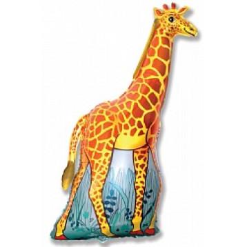 Шар Жираф на полянке