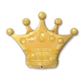 Шар Корона, Золото, 104 см