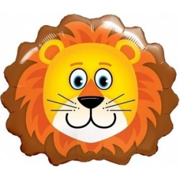 Шар Голова Льва, Оранжевая, 64 см