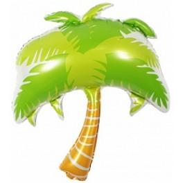Пальма, зеленая, 84 см