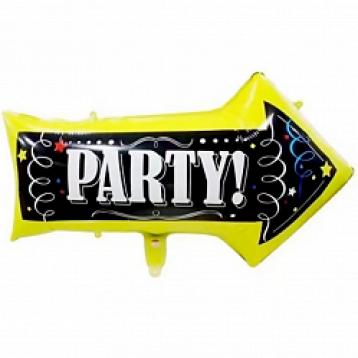 Шар Стрелка-указатель, Вечеринка