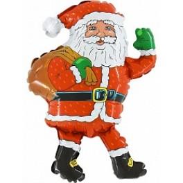 Шар Дед Мороз с мешком