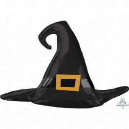 Шар Шляпа Ведьмы, Черная, 99 см
