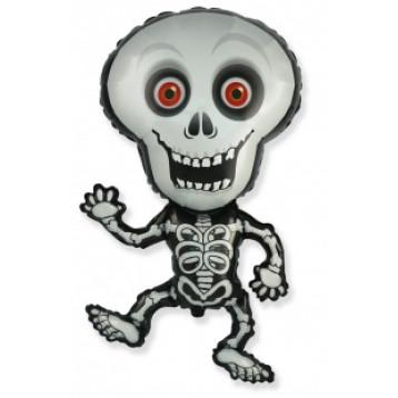 """Скелет, Серый с красными глазами, (40""""/102 см)"""