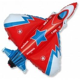 Шар Самолет Истребитель, Красный