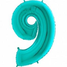 """Цифра 9 (Девять), Тиффани, (40""""/102см)"""