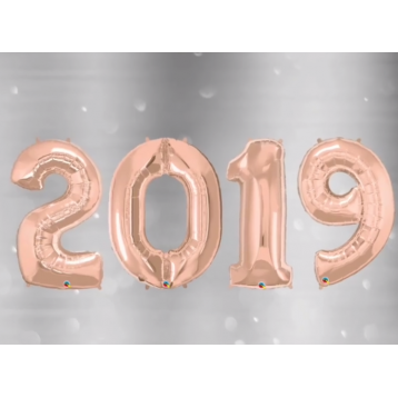 Новый год 2019_розовое золото