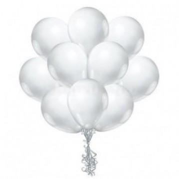 """Облако шаров """"Белые пастель"""",  25 шт."""