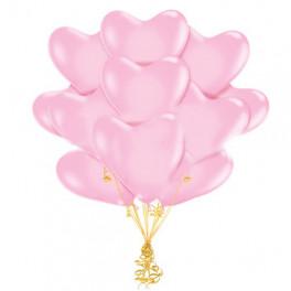 Облако Сердец нежно-розовых, 25 шт.