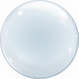 Шар Сфера 3D, (50 см), Прозрачный