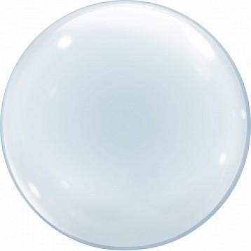 Шар Bubbles Deco, 61 см, Прозрачный