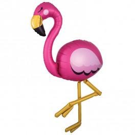 Ходячий Фламинго, золотые лапы, 173 см