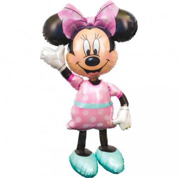 Шар Ходячая фигура, Минни розовое платье