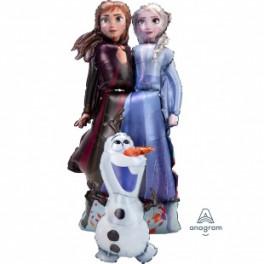 Олаф и принцессы, Холодное сердце,147 см