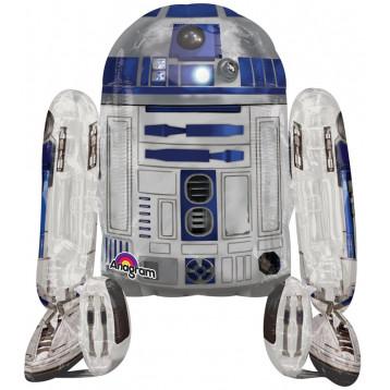 Шар Ходячая фигура, R2D2 Звездные войны, 112 см