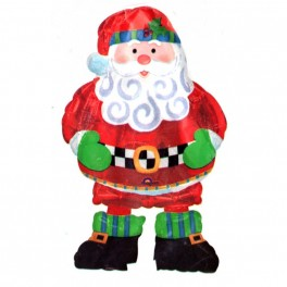 Шар Ходячая фигура, Санта, (94 см)