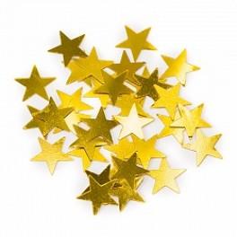 Конфетти звезды золотые (17гр.)