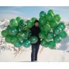 Шары Камуфляжные, Зеленые, 25 шт
