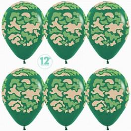 Шар Камуфляж, темно-зеленый