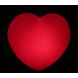 """Шар Светящееся сердце, Красный, 16""""/41 см"""